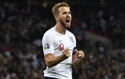 Англичанин Кейн стал лучшим бомбардиром отборочного турнира чемпионата Европы 2020 года