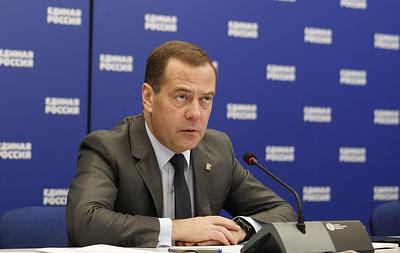 Медведев призвал полностью отказаться от долевого строительства в будущем