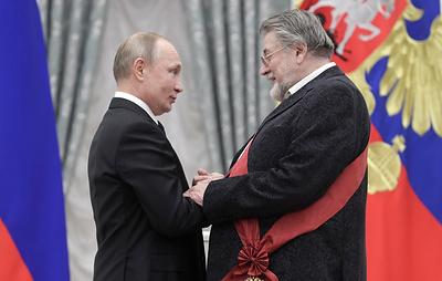 Пахмутова, Спиваков и Ширвиндт поблагодарили Путина за высокие государственные награды