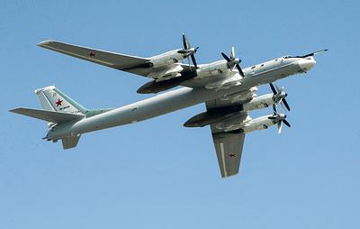 Ту-95МС выполнили полет над нейтральными водами Японского и Восточно-Китайского морей