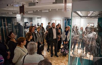 """Центр """"Эрмитаж-Сибирь"""" за первый месяц работы посетили почти 10 тыс. человек"""