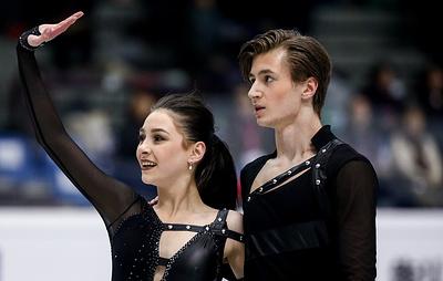Фигуристы Шанаева и Нарижный стали третьими в финале юниорского Гран-при в танцах на льду