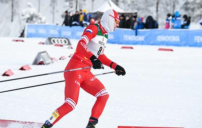 Российские команды заняли первые два места в мужской эстафете на этапе КМ по лыжным гонкам