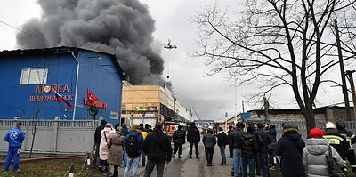Что известно о пожаре на складе на юге Москвы