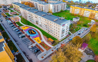 Поселение в Ленобласти благоустроили в рамках нацпроекта благодаря разработкам СПбГАСУ