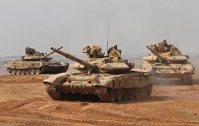 Российские и индийские военные на учениях в Индии отработали спасение заложников