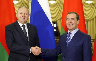 Медведев и Румас обсудили вопросы интеграции и энергодиалога