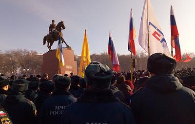 В центре Улан-Удэ открыли памятник маршалу Рокоссовскому