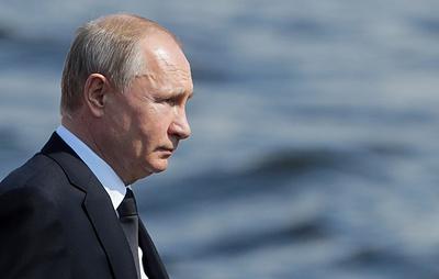 Путин у берегов Крыма наблюдал за учениями Северного и Черноморского флотов