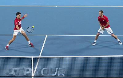 Теннисисты сборной Сербии выиграли ATP Cup в Австралии