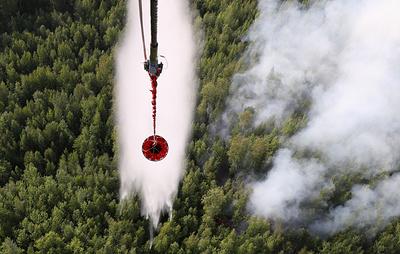Более 100 млн рублей задолженности выплатили авиаторам, тушившим леса в Красноярском крае