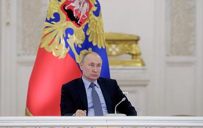 Путин внес в Госдуму законопроект о введении должности зампредседателя Совета безопасности