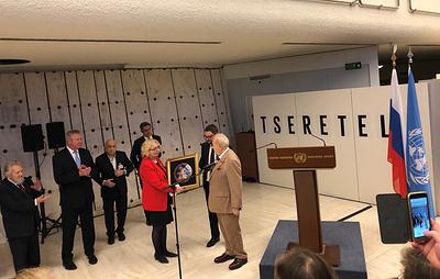 В штаб-квартире ООН в Женеве открылась выставка Зураба Церетели