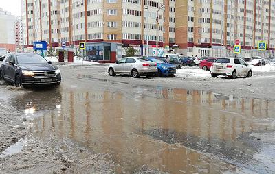 Нетипично теплая погода установилась в регионах Поволжья перед Крещением