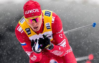 Российский лыжник Большунов выиграл гонку преследования на этапе Кубка мира в Чехии