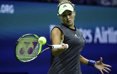 Россиянка Калинская проиграла в первом круге Australian Open