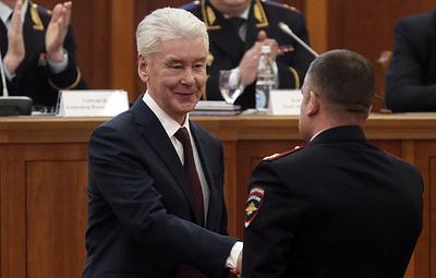 Собянин передал 35 автомобилей столичному управлению ГИБДД