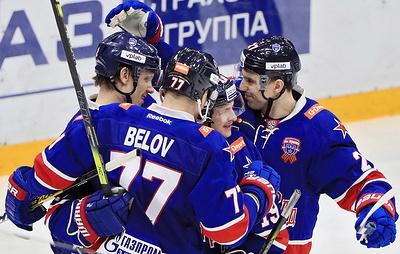 """СКА победил """"Барыс"""" и гарантировал себе участие в плей-офф КХЛ"""