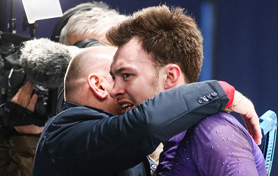Тренер Алиева счастлив, что дождался от фигуриста чистого проката и победы на ЧЕ