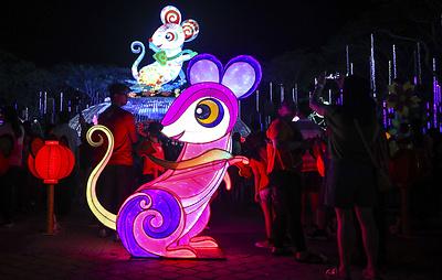 В Китае готовятся к новому году по лунному календарю