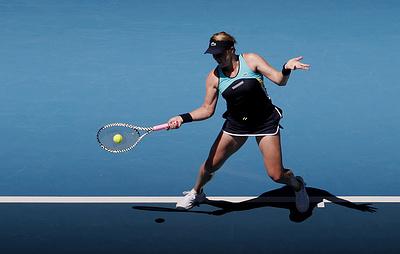 Павлюченкова обыграла вторую ракетку мира и вышла в четвертый круг Australian Open