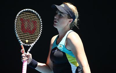 Павлюченкова заявила, что получала удовольствие от игры с Плишковой на Australian Open