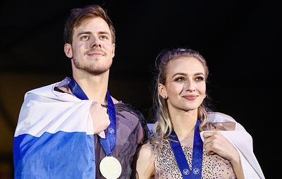 Фигуристы Синицина и Кацалапов заявили, что не ожидали победы на чемпионате Европы