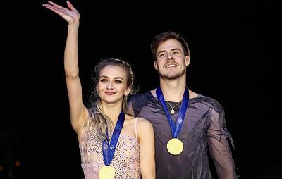 Российские фигуристы повторили рекорд по количеству медалей на чемпионате Европы