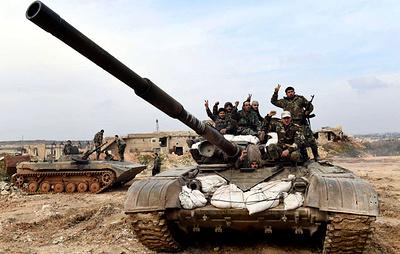 СМИ: сирийская армия вошла в город Маарет-Нааман на юго-востоке провинции Идлиб
