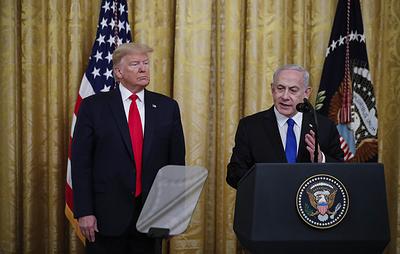 Нетаньяху: мирный план Трампа предоставляет реалистичный путь к длительному миру