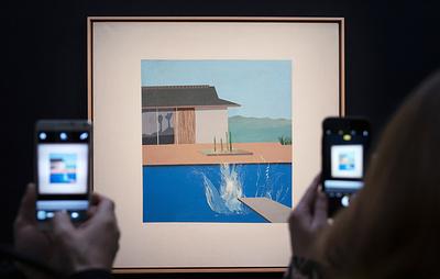 """Картину Дэвида Хокни """"Всплеск"""" продали в Лондоне почти за $30 млн"""
