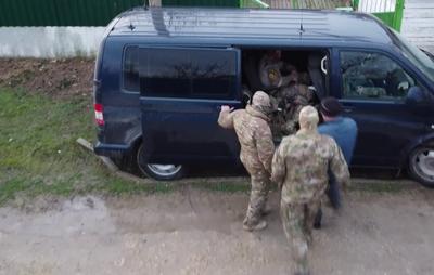 В Крыму задержали подозреваемого в участии в украинском НВФ