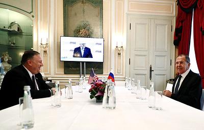 Лавров рассказал о переговорах с Помпео в Мюнхене