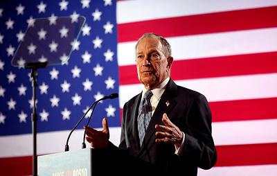 WSJ: Блумберг продаст свою медийную компанию в случае избрания президентом США