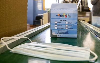 Под Новосибирском изготовили пробную партию медицинских масок со стерильным слоем