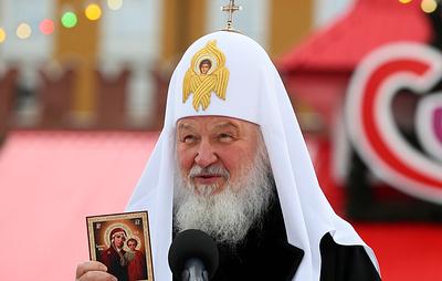 Десятый турнир по хоккею с мячом на призы патриарха Кирилла открылся в Москве