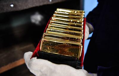 Цена золота достигла семилетнего максимума