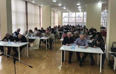 """Северная Осетия отметила день родного языка """"Тотальным диктантом"""" на осетинском"""