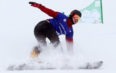 Сноубордист Соболев одержал победу в параллельном гигантском слаломе на этапе Кубка мира