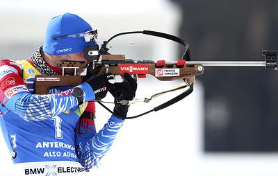 Биатлонист Логинов выступит на этапе Кубка мира в чешском Нове-Место