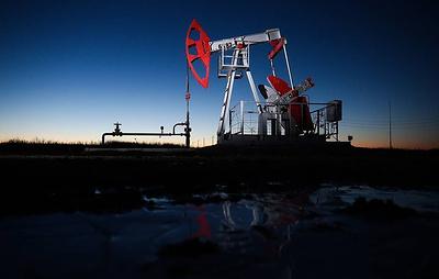 Цена нефти Brent опустилась ниже $57