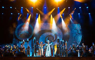 В Кремлевском дворце состоялся концерт по случаю празднования буддийского Нового года