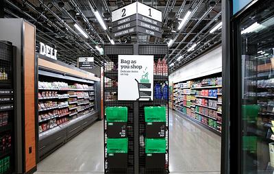 Amazon открыла в США первый супермаркет без касс