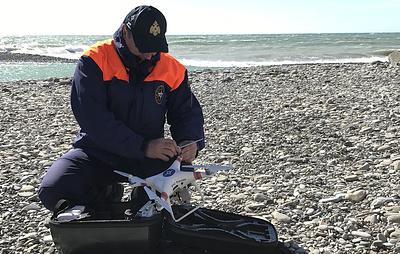 В Сочи обследовали 24 км берега Черного моря при поисках пропавших детей
