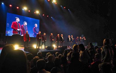 """Первый концерт """"Хора Турецкого"""" на гастролях в Болгарии собрал более 3 тыс. зрителей"""
