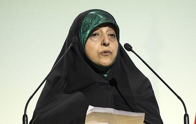 СМИ: вице-президент Ирана Масуме Эбтекар заразилась коронавирусом