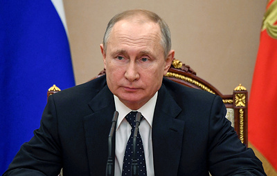 Путин в своем обращении в среду предложит меры поддержки бизнеса и экономики