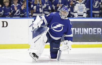 Василевский занял второе место в рейтинге вратарей по мнению игроков НХЛ