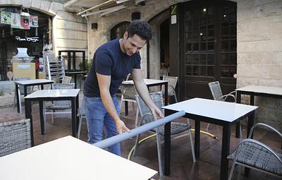 Расстояние между столиками в общепите после его открытия должно будет составлять 1,5 метра