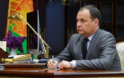 Биография нового премьер-министра Белоруссии Романа Головченко